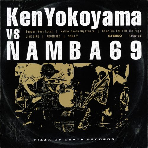 "SPLIT ALBUM<br />""Ken Yokoyama VS NAMBA69"""
